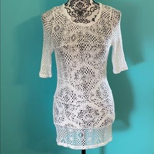 Intimately Free People Tunic Cover Up Resort Top